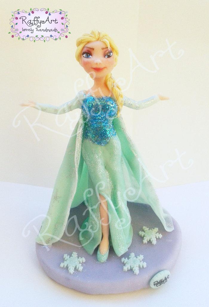 Cake topper Frozen Elsa