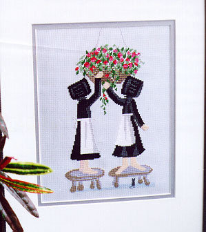 Hanging Basket Care - Diane Graebner Designs - Lynn Prints