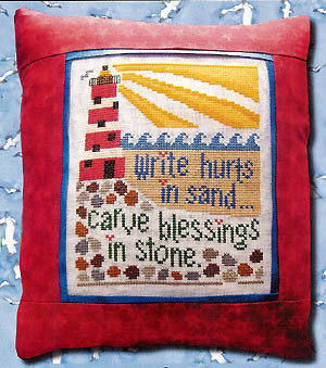 Carve Blessing - Schema Punto Croce - Count Your Blessing