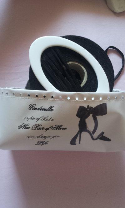 Kit per borse stampa scarpa con frase