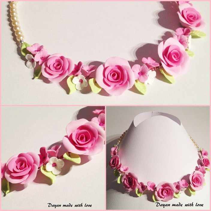 Collana Rose rose