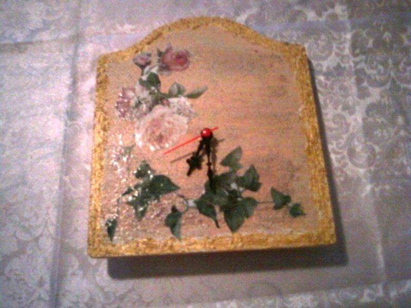 Orologio con rose