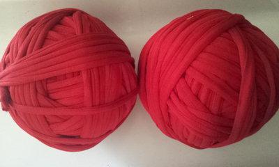 Fettuccia cotone elastico  rosso scuro