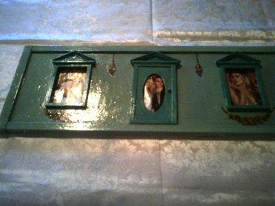 Portafoto a muro con porte e finestre