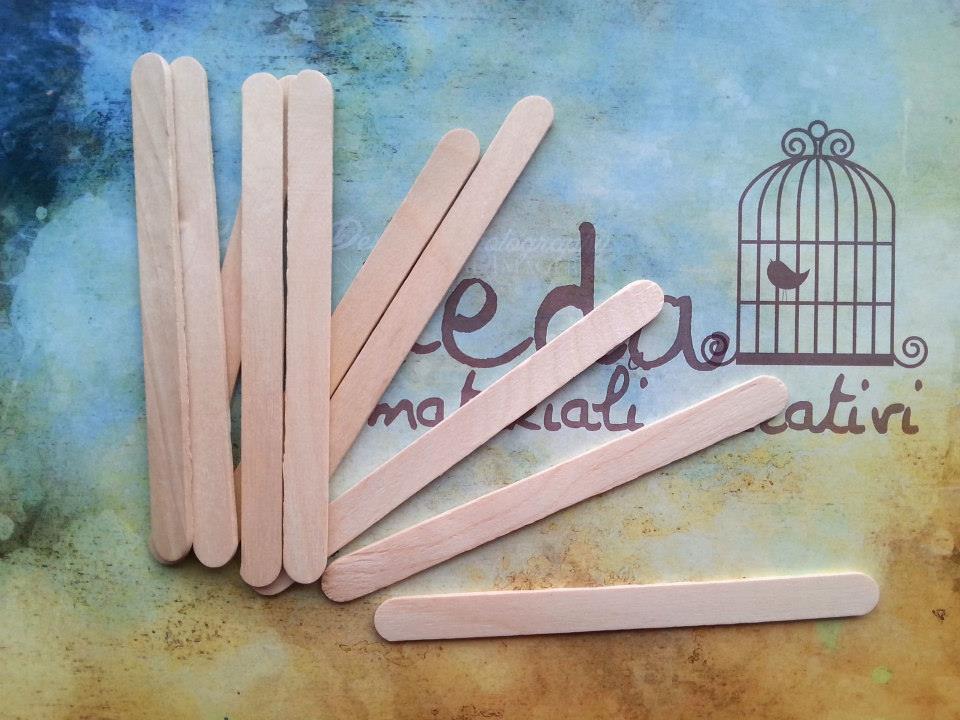 10 Stecchette in legno