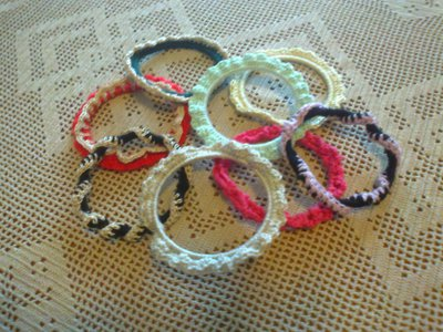 Coppia di braccialetti rigidi