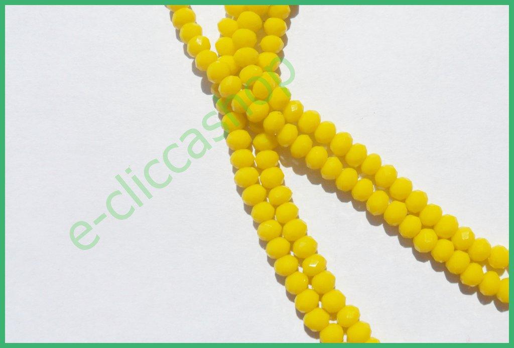 cipollotti rondelle abaco sfaccettati color giallo laccato 75 pz