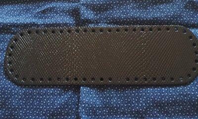 Fondo per borse ecopelle pitonato nero lucido