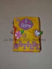 Libro sensoriale interattivo in tessuto handmade per bimbi