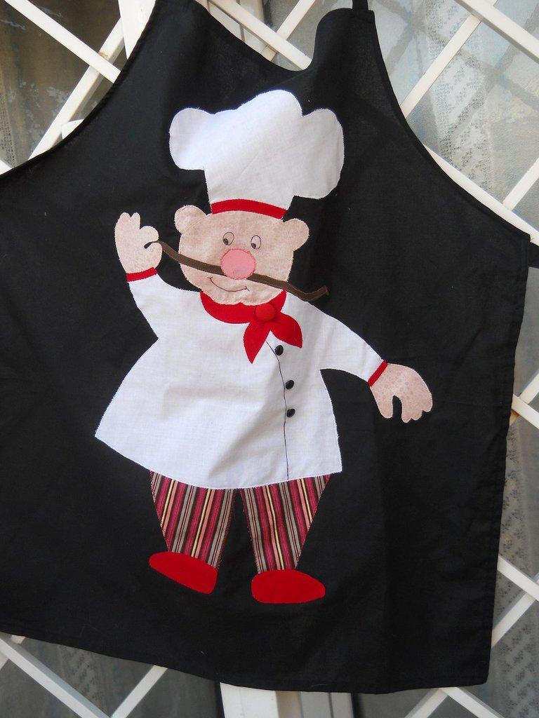 Grembiule da cucina in cotone per uomo per la casa e - Grembiule da cucina ...