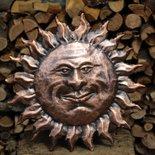 Sole in rame lavorato a mano