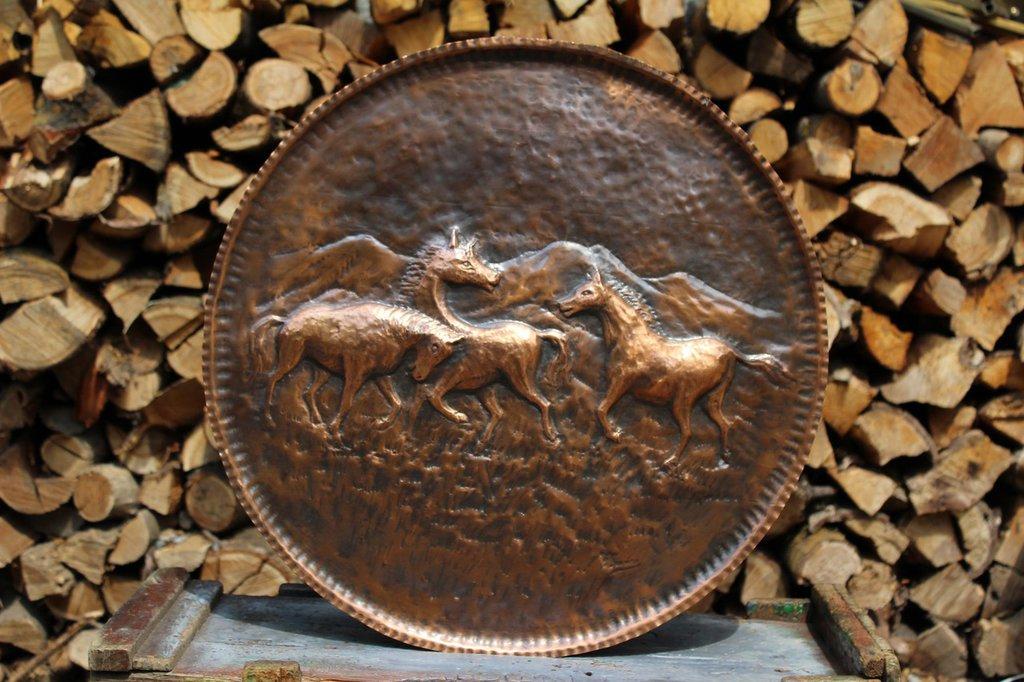 Quadro con cavalli