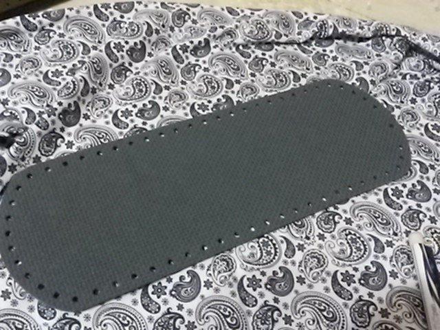 Fondo per borse ecopelle jeans 34x12