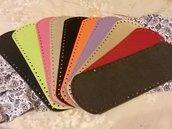 Offerta lotto 10 fondi 34x12 colori assortiti - Spedizione omaggio
