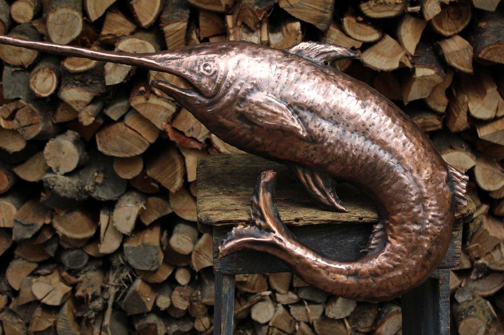 Pesce spada in rame