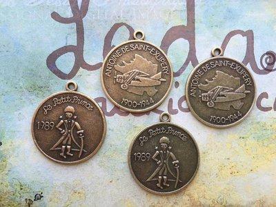 Charm Piccolo Principe bronzo