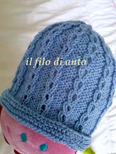 """Inserzione riservata """"cappellino"""