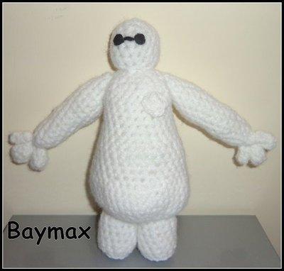 Baymax Amigurumi - Big hero 6, uncinetto