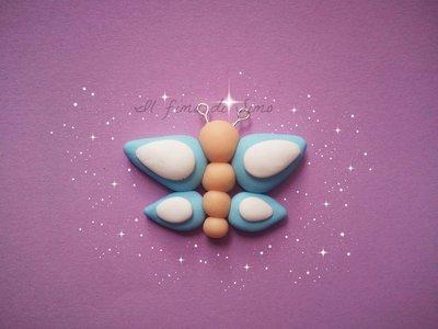 bomboniera farfalla in fimo
