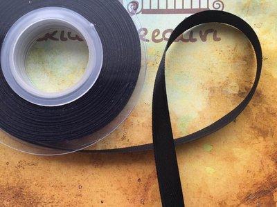 Nastro di raso nero da 1cm