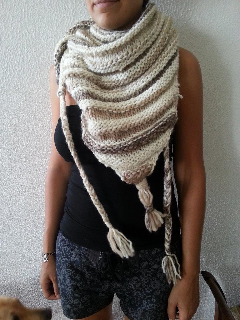 kefia sciarpa in lana