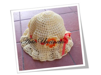 cappellino per bimba