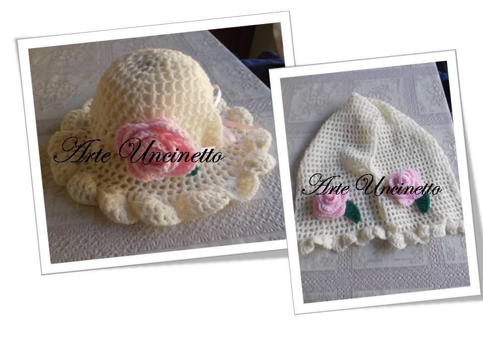 cappellino e sciarpa completo