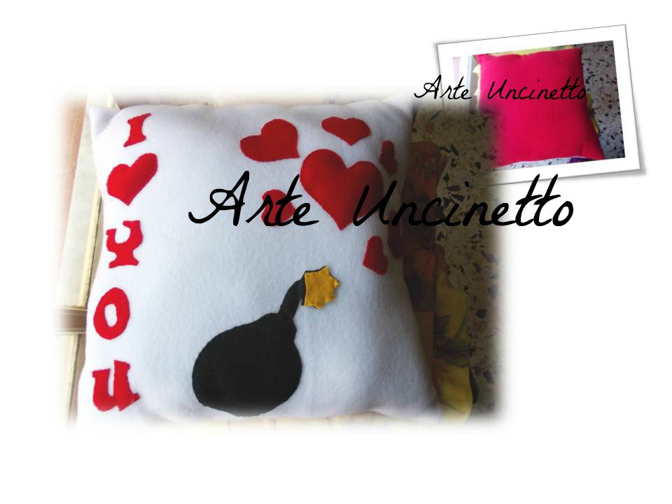cuscino idea regalo