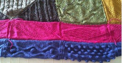 coperta amish in lana