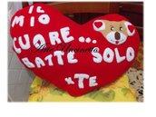 cuscino cuore san valentino