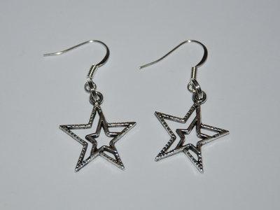 Orecchini doppia stella