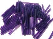 20g Perline lunghe viola