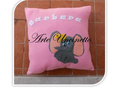 cuscino per bimba