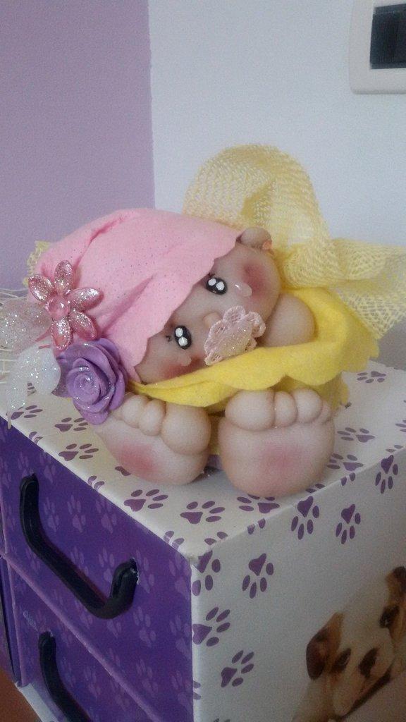 """Bambola """"Elisabeth"""" creata con le calze di nylon"""