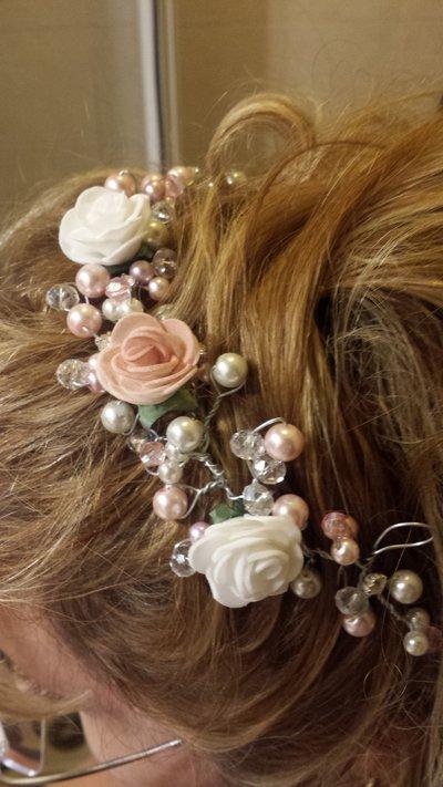 Accessori capelli realizzato a mano personalizzabile