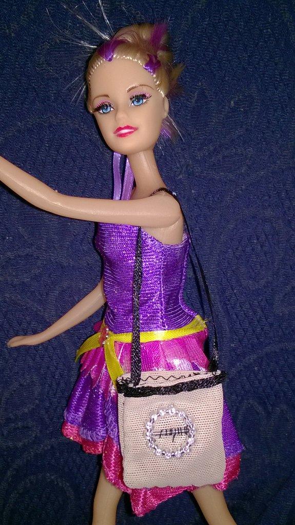 borsa barbie tracolla