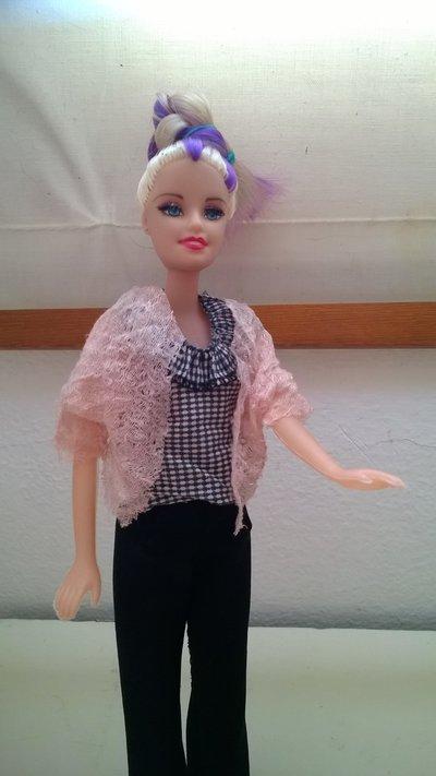 coprispalle rosa barbie