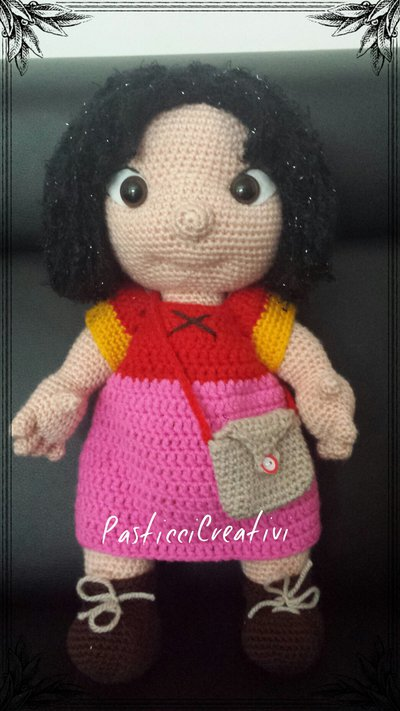 Bambola amigurumi Heidi - Per la casa e per te - Bambole e ...