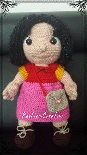 Bambola amigurumi Heidi