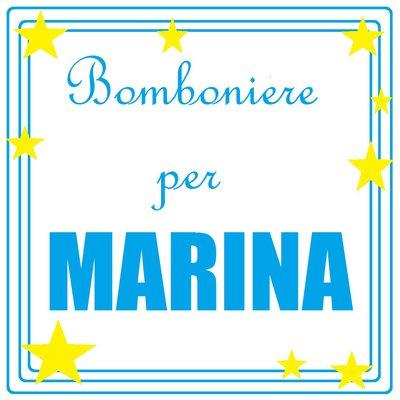 Bomboniere per Marina: portaconfetti con pesciolini per il suo battesimo