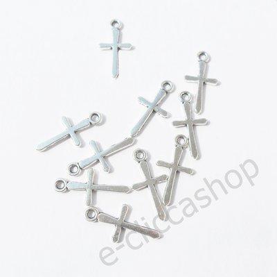 Croce cross charms ciondolo 10 pz