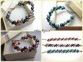 """Bracciali con perle """"Multicolore"""""""