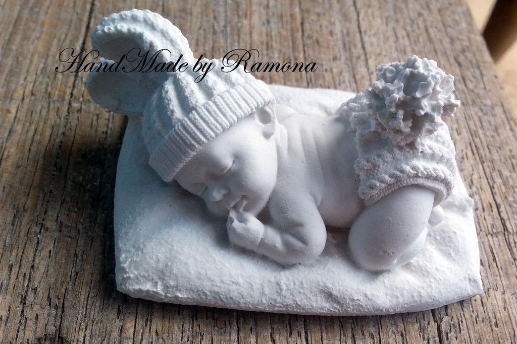 Gessetto profumato  bambino,bebè,  bomboniere,  segnaposto  per nascita,battesimo