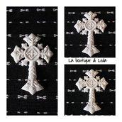 Gessetti per bomboniera  a forma di croce