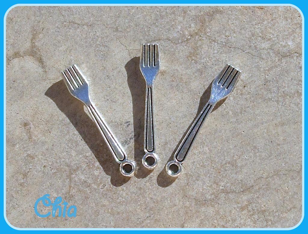 8 charms mini forchette