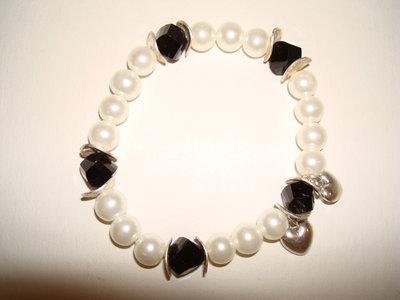 Bracciale perle romantico