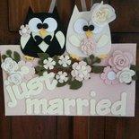 Targa nozze personalizzata