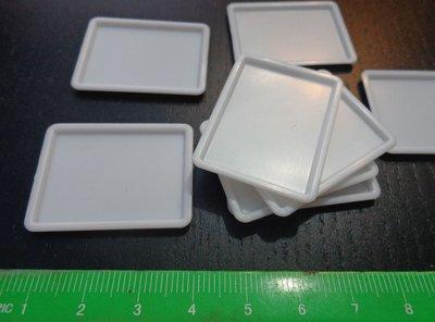 8 Mini Vassoietti in Plastica