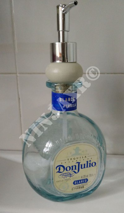 Bottiglia Tequila Don Julio Dispenser Sapone liquido