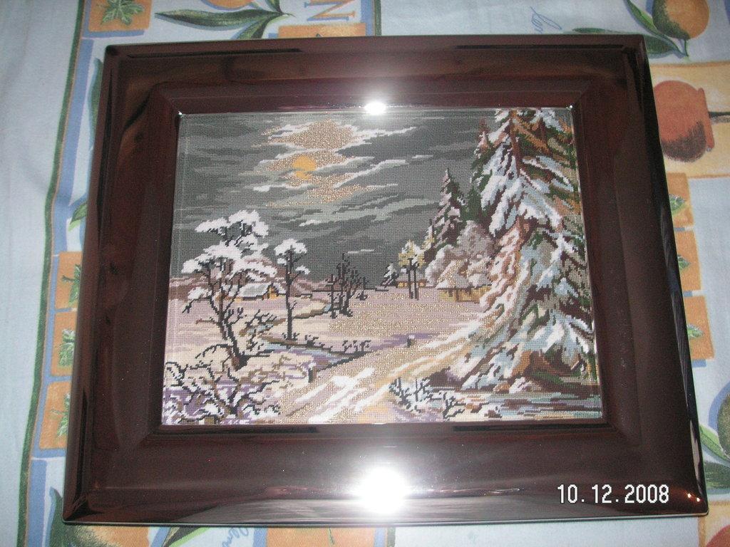 quadro natura in inverno